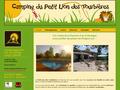 Camping Petit Lion Des Tourbières : camping, studio et gîte en Périgord Vert entre Charente et Dordogne
