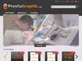 Prestagraphik : graphisme et impression - logo, flyers, carte de visite et en-tête de lettre