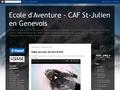 Ecole d'Aventure CAF St-Julien en Genevois : escalade, alpinisme, VTT, ski, glace et freerando
