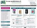 Le Sac Publicitaire : sacs papier kraft ou plastique personnalisé, réutilisable ou non
