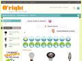 Oright : sp�cialiste de l'�clairage � base d'ampoules, de lampes Led, n�ons Led  et bandeaux Led