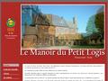 G�te Manoir Du Petit Logis : g�te de charme 4 �pis � Heudicourt en Normandie dans l'Eure