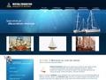 Mistral Production Maquette Bateau : décoration marine avec des maquettes de bateaux ou des objets de l'histoire maritime