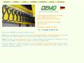 Demo Online : mat�riels pour l'alimentation �lectrique des appareils mobiles du type pont roulant