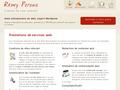Rémy Perona : réalisation de site internet et référencement pour PME, particuliers et associations