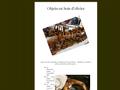 Objets en Bois d'Olivier : objets artisanaux en bois d'olivier - mortiers, pilons et saladiers