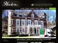Hoeters : véranda réalisée par un ébéniste sur Liège