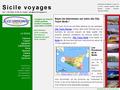 Sicile Voyages : informations touristiques sur la Sicile et les provinces siciliennes à visiter