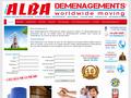Alba Déménagements : spécialiste du déménagement d'entreprises et de particuliers - garde-meubles