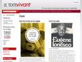 Le Texte Vivant : éditeur indépendant de livres numériques et ebooks lisible sur support numérique