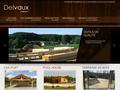 Delvaux Construction Bois : sp�cialiste en terrasse en bois, Car-port et Pool House