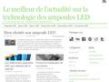 Ampoule à led : test et actualité sur les produits à base de led - spots, projecteurs et néons