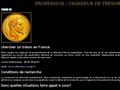 Chercheur de Trésor : service de recherche de trésor à domicile et matériel de détection