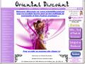 Oriental Discount : boutique dedi�e a la danse orientale avec nombreux articles � prix discount