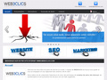 Web3clics : conception graphique, cr�ation de site web et r�f�rencement naturel