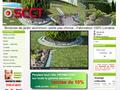 Bordure Jardin : fabrique de bordures de massifs et pas chinois en aluminium - SCCT