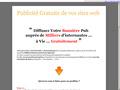 Publicité du Web : publicité gratuite de vos sites web auprès de milliers d'internautes francophones