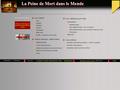 Peine de Mort : situation de la peine de mort en France, aux Etats-Unis et dans le Monde