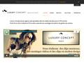 Luxury Concept : agence web spécialisée dans la création de sites internet avec le CMS Joomla
