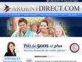 Argent Direct : prêt à court terme et avances de paies - facile, rapide et direct