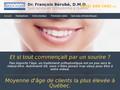 Docteur Francois Bérubé : orthodontiste à Quebec avec 40 conférences internationales à son actif