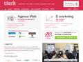 Agence Clark : agence web à Paris pour la conception et le développement de sites internet