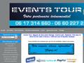 Events Tour : décorateur de mariages, de soirées à thèmes et de réceptions diverses