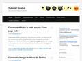 Tutorial Gratuit : tuto informatique, internet, r�seaux sociaux, programmation et cr�ation site web