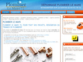 Plombier Le Mans 72 : intervention et dépannage en plomberie par des plombiers professionnels