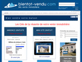 Bientôt Vendu : panneau à vendre ou panneaux immobilier pour vendre un bien immobilier
