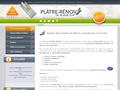 Plâtre Renov : plaquiste sur Lille, Arras, Douai, Valenciennes et Armentières pour vos travaux de plâtrerie, cloison et isolation