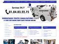Débouchage Curage Canalisation : débouchage de toutes canalisations à l'aide de camion pompe - IDF Dego