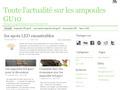 Ampoules led Gu10 : actualités dans le domaine de l'éclairage