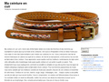 Ma Ceinture Cuir : conseils sur la thématique de la ceinture en cuir