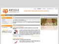 Article Publicitaire : portail d'informations sur la communication par l'objet