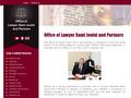 Maître Jouini : cabinet Sami Jouni et Associés spécialisé en droit des affaires et entreprise en Tunisie