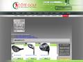 Côté Golf : matériel, chaussures, putter, sacs, balles et driver pour le golf