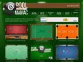 Pool Maniac : jeux de billard gratuit en flash