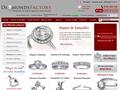 Diamonds Factory : bague, boucles d'oreilles, pendentifs et bracelets avec diamant