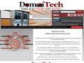 Domo'Tech : domotiques, �lectricit�, automatisme, vid�o surveillance, alarme, r�seau informatique et t�l�phonique