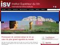 I.S.V : Institut Superieur du Vin à Montpellier