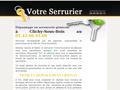 Serrurier Clichy Sous Bois : serrurier formé et qualifié pour réaliser votre dépannage ou votre installation