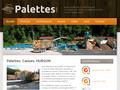 Palettes : remplacer les vieilles palettes par de nouvelles palettes
