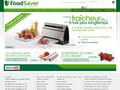 FoodSaver : appareils d'emballage sous vide qui conservent la fraîcheur de la nourriture