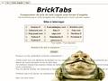 Bricktabs : comparateur de prix de sets Lego�
