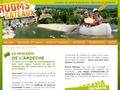 Descente Canoë Ardèche : location de canoë à Ruoms en Ardêche