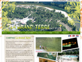 Camping La Grand'Terre : camping prés de Ruoms pour votre séjour en Ardèche