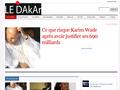 Le Dakar : actualit� S�n�galaise - politique, musique et soci�t�