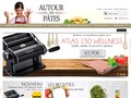 Autour Des Pâtes : machines et recettes pour confectionner des pâtes fraiches