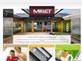 Groupe Millet : portes d'entré et fenêtres